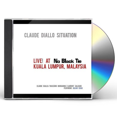 Claude Situation Diallo LIVE AT NO BLACK TIE KUALA LUMPUR MALAYSIA CD