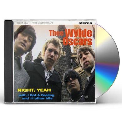 Thee Wylde Oscars RIGHT YEAH CD