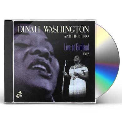 Dinah Washington LIVE AT BIRDLAND 1962 CD