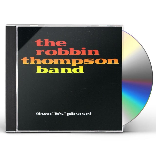 Robbin Thompson TWO B'S PLEASE CD