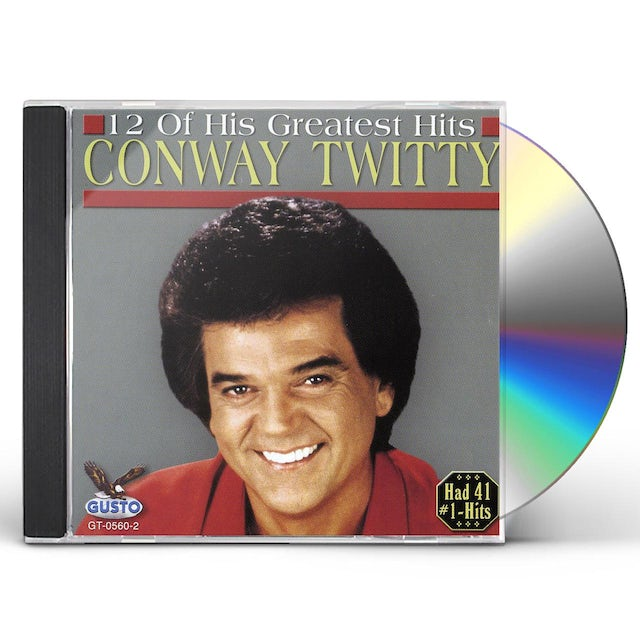 Conway Twitty 12 OF HIS GREATEST HITS CD