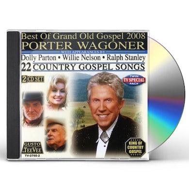 Porter Wagoner BEST OF GRAND OLD GOSPEL 2008 CD
