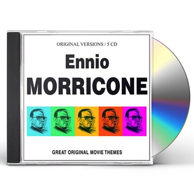 Ennio Morricone GREAT ORIGINAL MOVIE THEMES CD