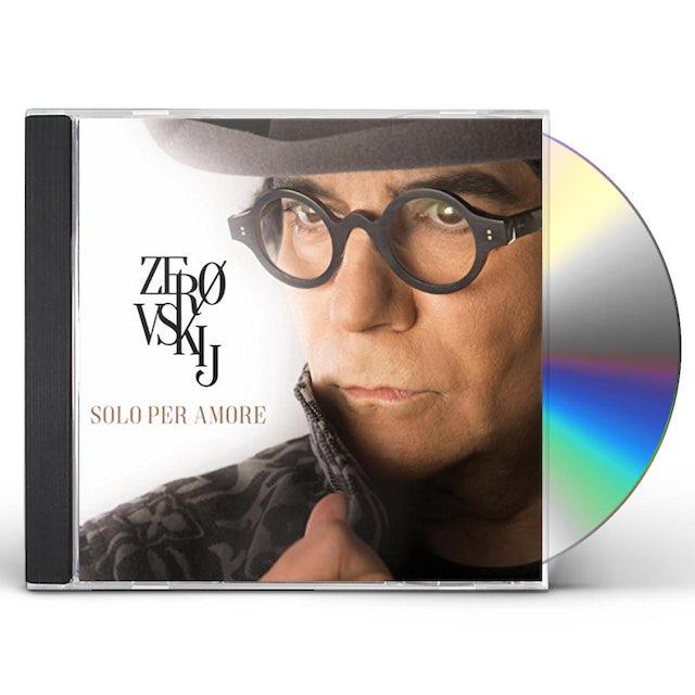 Renato Zero ZEROVSKIJ SOLO PER AMORE CD