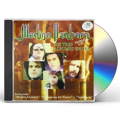 SUS TRES ALBUMES EN CBS CD