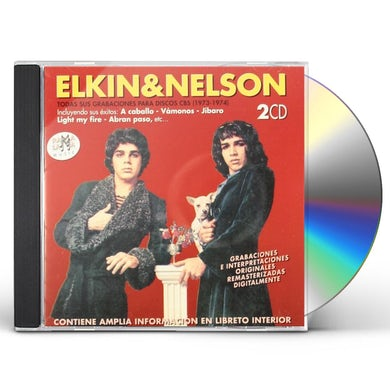 Elkin & Nelson TODAS SUS GRABACIONES PARA DISCOS CBS (1973-1974) CD