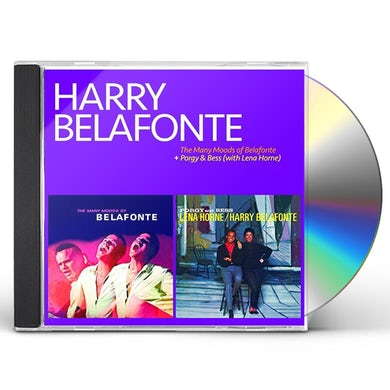 Harry Belafonte MAY MOODS OF BELAFONTE / PORGY & BESS (WITH LENA H CD