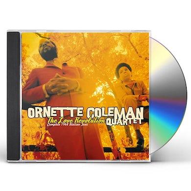 Ornette Coleman LOVE REVOLUTION: COMPLETE 1968 ITALIAN TOUR CD