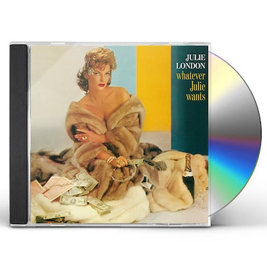 Julie London WHATEVER JULIE WANTS CD