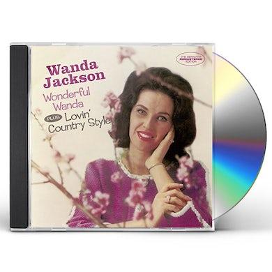 Wanda Jackson WONDERFUL WANDA / LOVIN COUNTRY STYLE + 6 BONUS TR CD