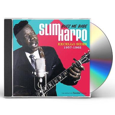 Slim Harpo BUZZ ME BABE - EXCELLO SIDES 1957-1962 CD