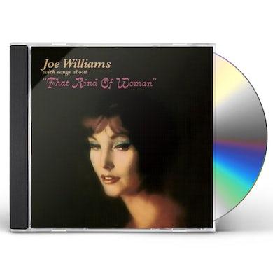Joe Williams THAT KIND OF WOMAN + SENTIMENTAL & MELANCHOLY CD