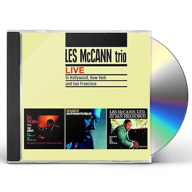 Les Mccann LIVE IN HOLLYWOOD NEW YORK & SAN FRANCISCO + 7 CD