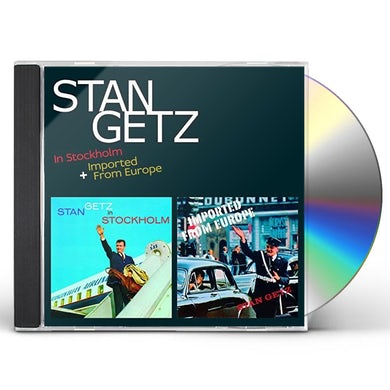 Stan Getz IN STOCKHOLM + IMPORTED FROM EUROPE + 16 BONUS CD
