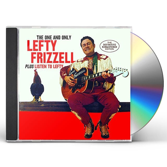 ONE & ONLY LEFTY FRIZZELL / LISTEN TO LEFTY CD