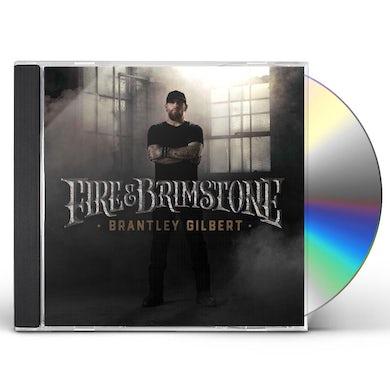 Brantley Gilbert FIRE & BRIMSTONE CD