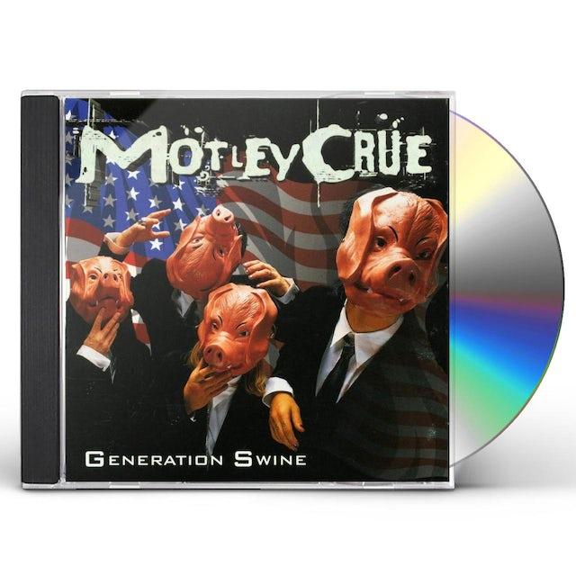 Mötley Crüe GENERATION SWINE CD