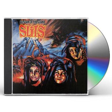 RETURN OF THE GIANT SLITS CD