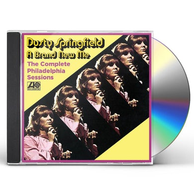 Dusty Springfield COMPLETE PHILADELPHIA SESSIONS - A BRAND NEW ME CD
