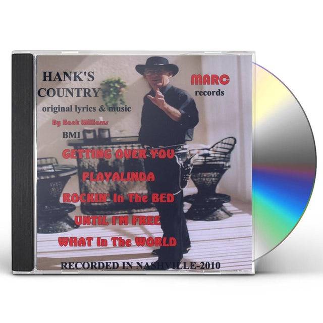 Hank Williams HANK'S COUNTRY CD