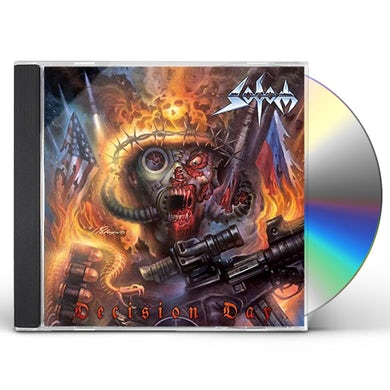 Sodom DECISION DAY CD