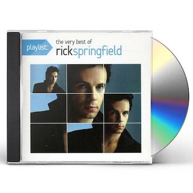 PLAYLIST: THE VERY BEST OF RICK SPRINGFIELD CD