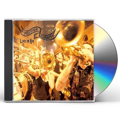 Mission Delirium LIVE IN RIO CD