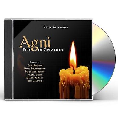 Peter Alexander AGNI FIRE OF CREATION CD