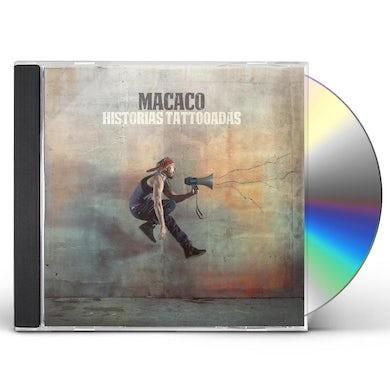Macaco HISTORIAS TATTOOADAS CD