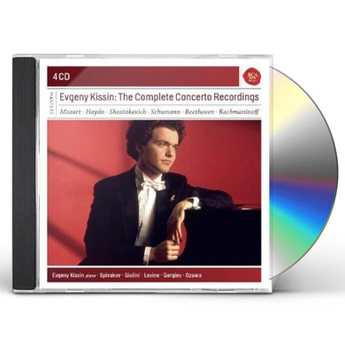 Evgeny Kissin COMPLETE CONCERTO RECORDINGS CD