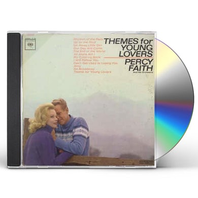 Percy Faith TODAY'S THEMES FOR YOUNG LOVERS CD