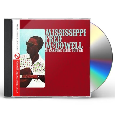 Fred Mcdowell STEAKBONE SLIDE GUITAR CD