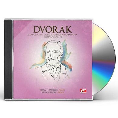 Dvorak SLAVONIC DANCE 1 FOUR HAND PIANO B MAJ 72 CD