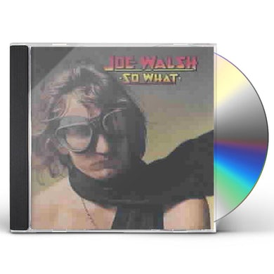 Joe Walsh BUT SERIOUSLY FOLKS Vinyl Record