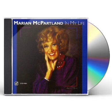 Marian McPartland IN MY LIFE CD