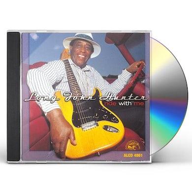 Long John Hunter RIDE WITH ME CD