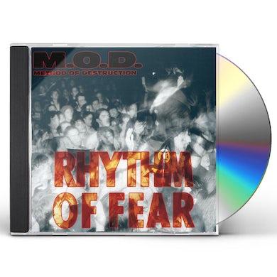 MOD RHYTHM OF FEAR CD