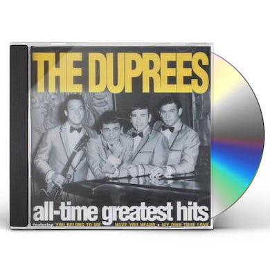 Duprees ALL-TIME GREATEST HITS CD
