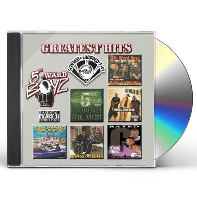 5th Ward Boyz GREATEST HITS CD