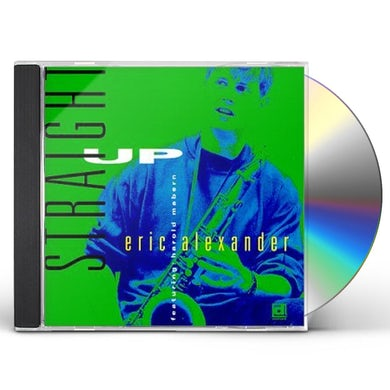 Eric Alexander STRAIGHT UP CD