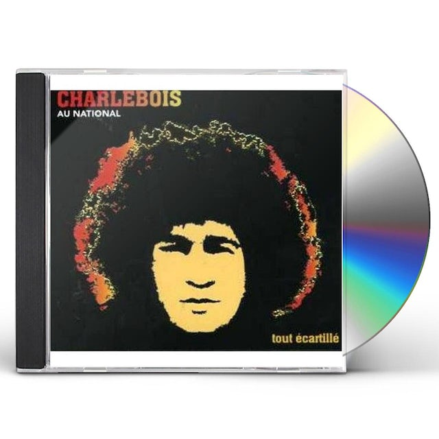 Robert Charlebois TOUT ECARTILLE-EN CONCERT AU NATION CD