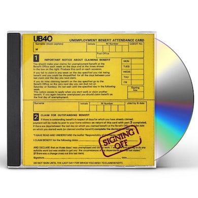 Ub40 SIGNING OFF CD