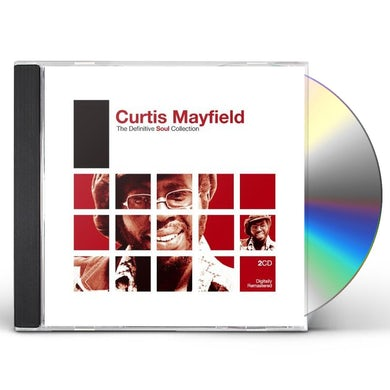 Curtis Mayfield DEFINITIVE SOUL CD