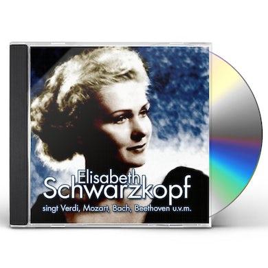Elisabeth Schwarzkopf SINGT LIEDER UND ARIEN CD