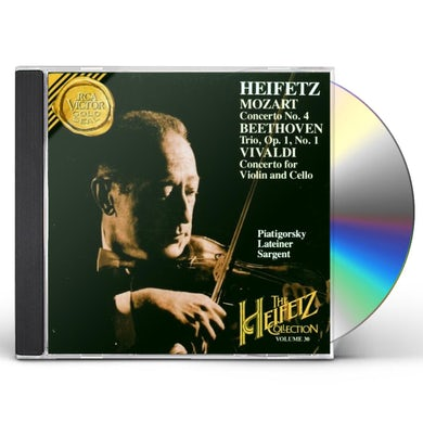 Jascha Heifetz COLLECTION VOL 30 CD