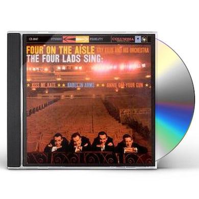 Four Lads FOUR ON THE AISLE CD