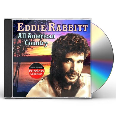 Eddie Rabbitt ALL AMERICAN COUNTRY CD