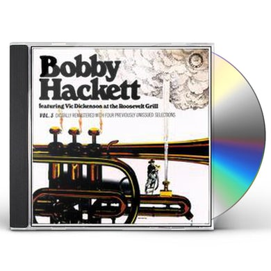 Bobby Hackett LIVE AT THE ROOSEVELT GRILL 3 CD