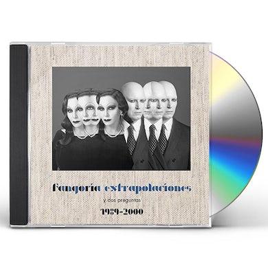 Fangoria EXTRAPOLACIONES Y DOS PREGUNTAS 1989-2000 CD