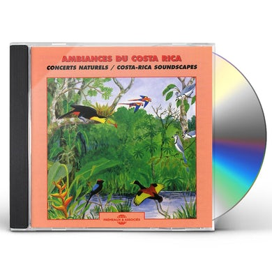 Sounds of Nature COSTA RICA SOUNDSCAPES CD